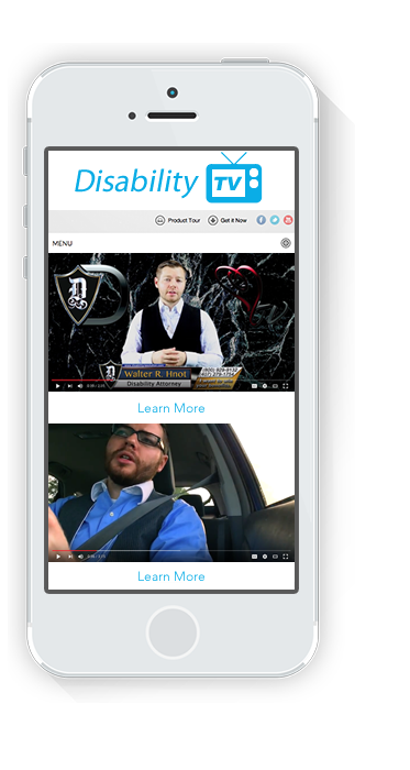 iphone disability television v.2